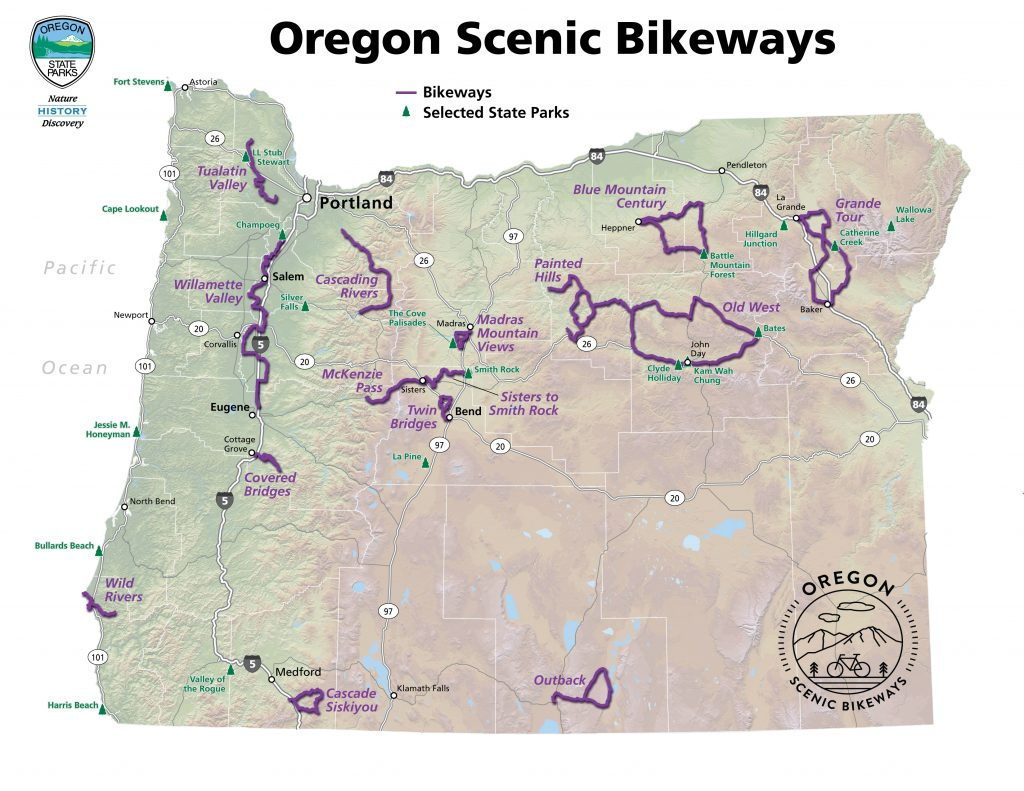oregon scenic bikeways bend bike rental